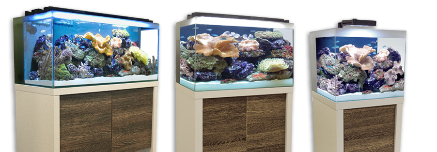 M90 Reef Aquarium and Cabinet Set, 36 US Gal (136 L